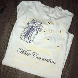 chi omega t-shirt 💕big little💕